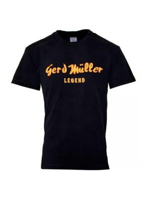 Gerd Muller tee - black