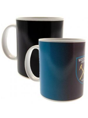 West Ham United FC Heat Changing Mug GR