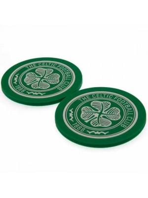 Celtic FC 2 Pack Coaster Set