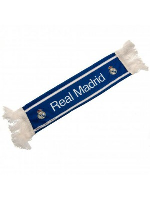 Real Madrid FC Mini Car Scarf