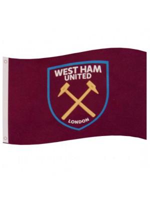 West Ham United FC Flag CC