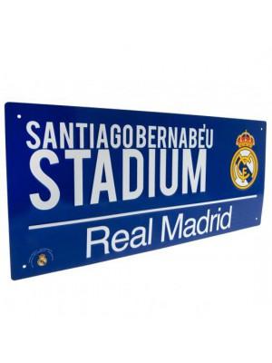 Real Madrid FC Street Sign BL