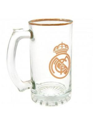 Real Madrid FC Stein Glass Tankard