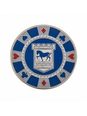 Ipswich Town FC Casino Chip Ball Marker