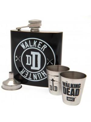 The Walking Dead Hip Flask Set