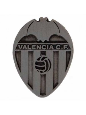 Valencia CF Badge Antique Silver