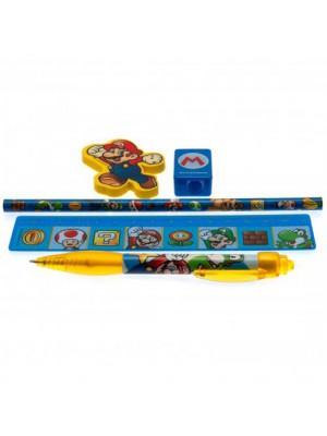 Super Mario 5pc Stationery Set