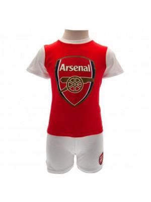 Arsenal FC T Shirt & Short Set 6/9 Months
