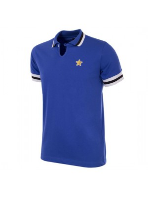 Juventus FC 1976 - 77 Away Coppa UEFA Short Sleeve Retro Shirt
