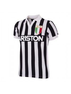 Juventus FC 1984 - 85 Short Sleeve Retro Shirt