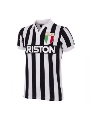 Juventus FC 1984 - 85 Short Sleeve Retro Shirt