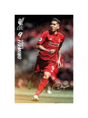 Liverpool FC Poster Firmino 8