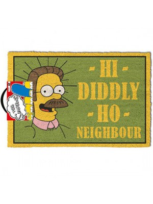 The Simpsons Doormat Flanders