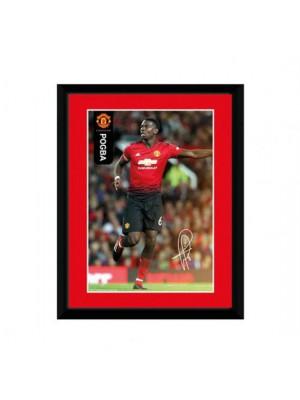 Manchester United FC Picture Pogba 8 x 6