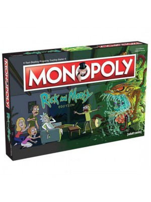 Rick And Morty Edition Monopoly