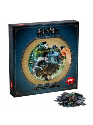 Harry Potter Magical Creatures Puzzle 500pc