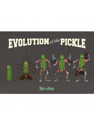 Rick And Morty Poster Pickle Rick 170