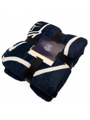 Everton FC Sherpa Fleece Blanket