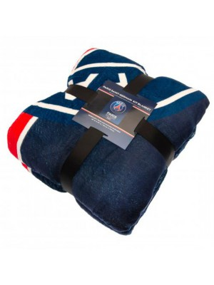 Paris Saint Germain FC Sherpa Fleece Blanket