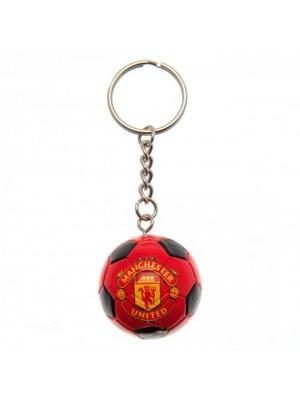 Manchester United FC Football Keyring