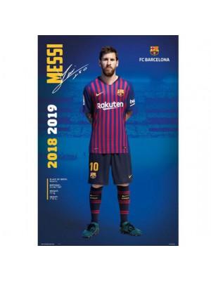 FC Barcelona Poster Messi 24