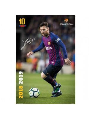 FC Barcelona Poster Messi 25