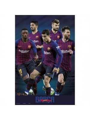FC Barcelona Poster Players 41