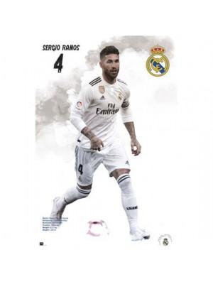 Real Madrid FC Poster Ramos 42