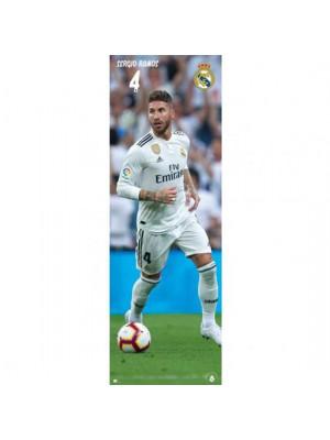 Real Madrid FC Door Poster Ramos 318