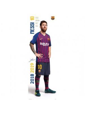 FC Barcelona Door Poster Messi 312