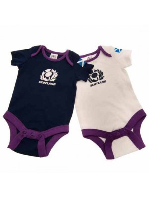 Scotland RU 2 Pack Bodysuit 0/3 Months
