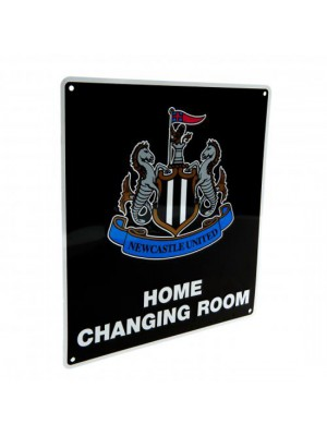 Newcastle United FC Home Changing Room Sign