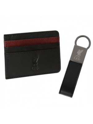 Liverpool FC Card Holder & Keyring Set