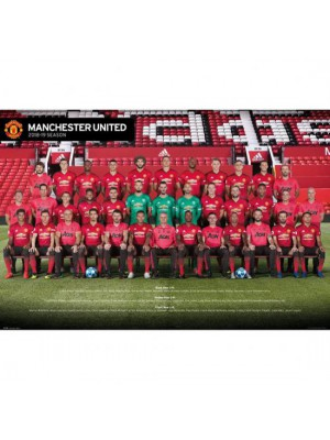 Manchester United FC Poster Squad 67