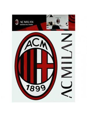 AC Milan Wall Sticker A4