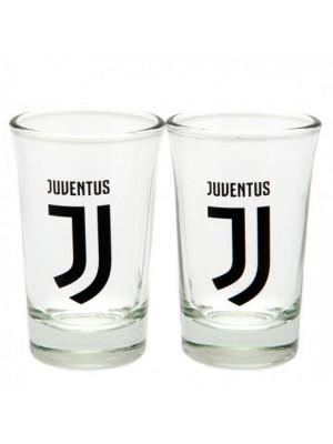 Juventus FC 2 Pack Shot Glass Set