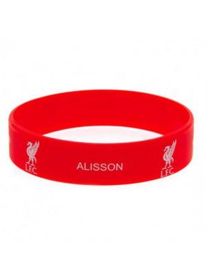 Liverpool FC Silicone Wristband Alisson