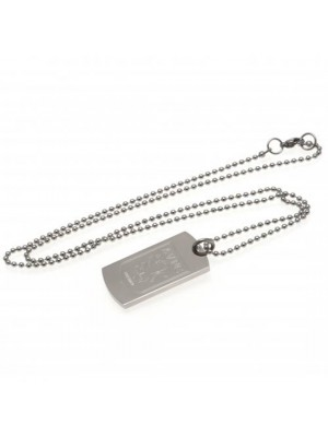 Aston Villa FC Engraved Dog Tag & Chain