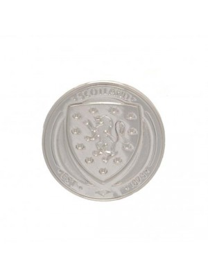 Scotland FA Silver Plated Badge