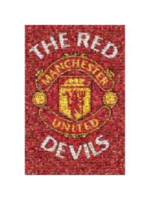 Manchester United FC Poster Mosaic 21