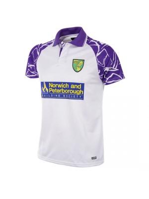 Norwich FC 1992 - 94 Away Short Sleeve Retro Football Shirt