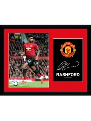 Manchester United FC Picture Rashford 16 x 12