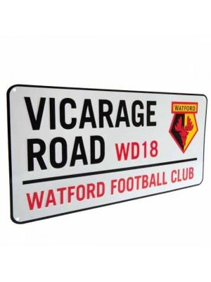 Watford FC Street Sign
