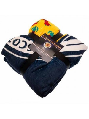 Scotland FA Sherpa Fleece Blanket