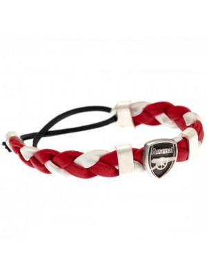 Arsenal FC PU Slider Bracelet