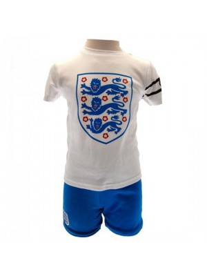 England FA T Shirt & Short Set 6/9 Months
