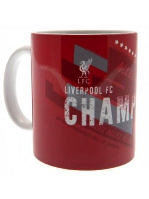 Liverpool FC Champions Of Europe Mug