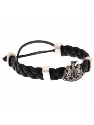 Newcastle United FC PU Slider Bracelet