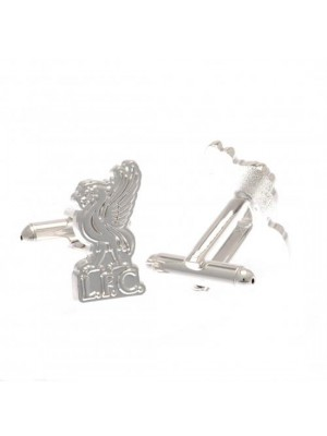Liverpool FC Silver Plated Formed Cufflinks LB