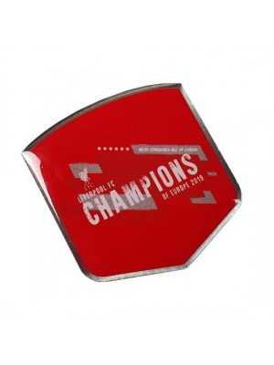 Liverpool FC Champions Of Europe Badge